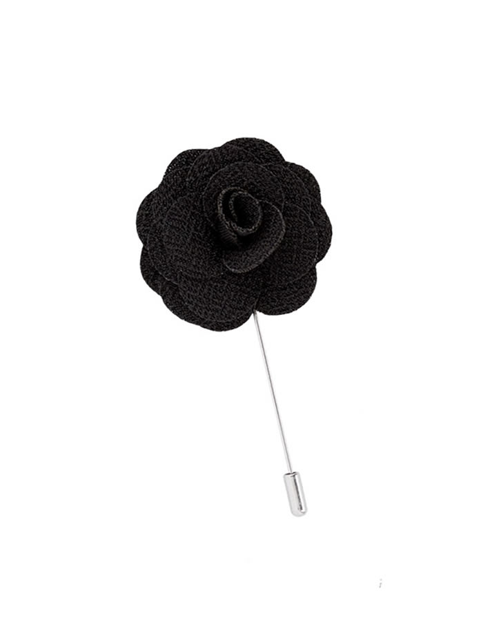 black-lapel-pin