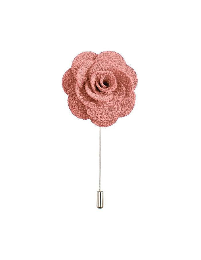 Ružový lapel pin