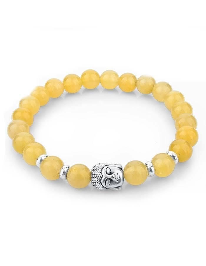 Žltý náramok Buddha