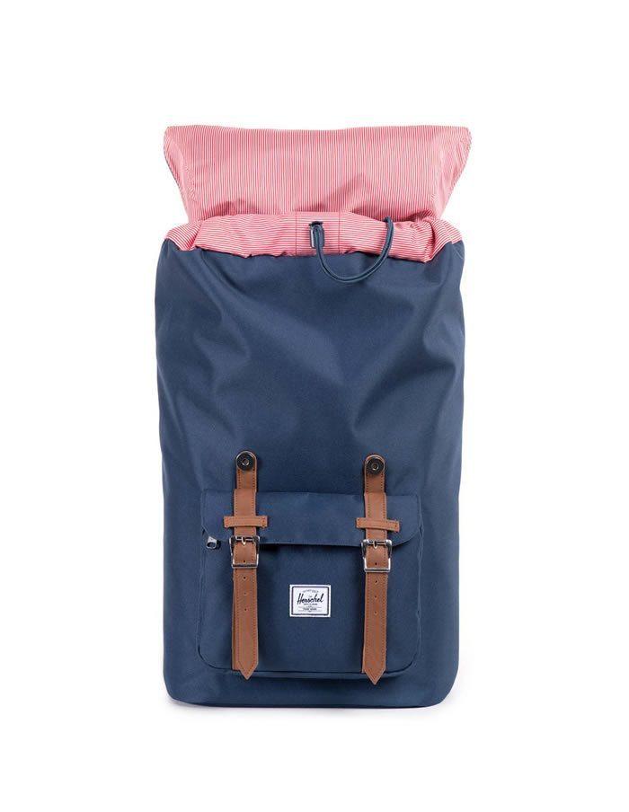 Modrý ruksak Little America