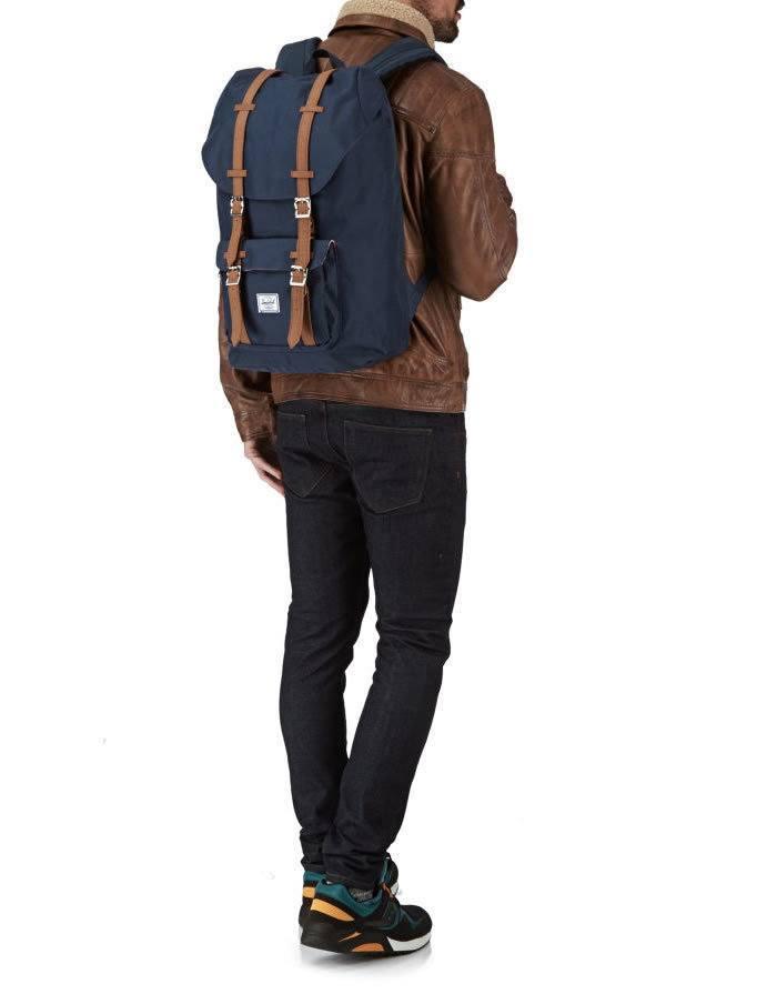 Modrý ruksak Herschel Little America