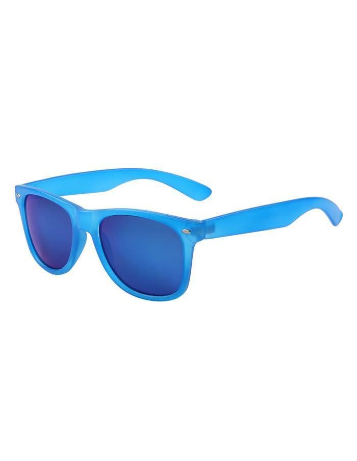 5bba0f929 Modré okuliare Wayfarer Pop zrkadlové sklá × pickle.sk