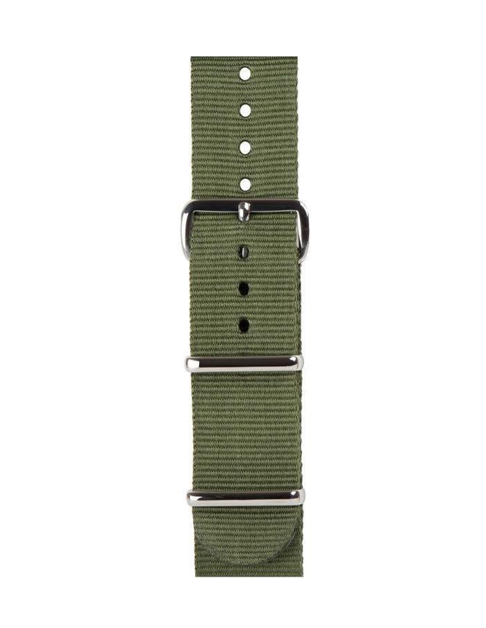 Zelený remienok na hodinky