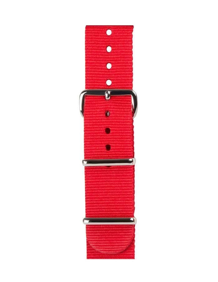 Červený remienok na hodinky