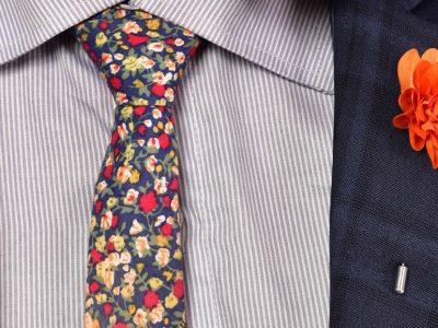Ako nosiť kvetinku do klopy saka